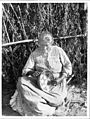 Coahuilla Indian woman making basket, Pala, ca.1905 (CHS-3990).jpg