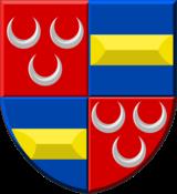 Coat of Arms Van Duvenvoorde & Van Wassenaer Obdam (simple)
