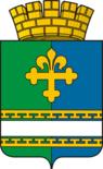 Coat of Arms of Bogdanovich (Sverdlovsk oblast).png