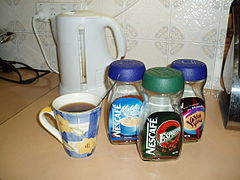Coffee selections and fresh brewed cup.jpg