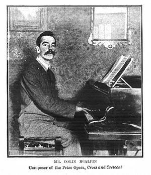 Colin McAlpin - Image: Colin Mc Alpin in 1903