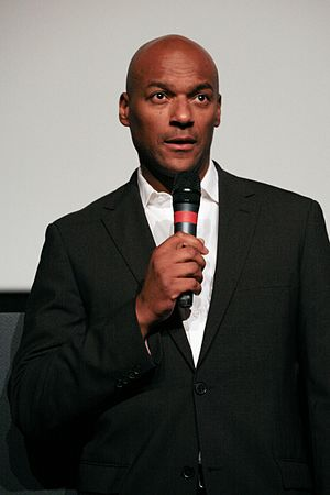 English: Colin Salmon at Dinard british film f...