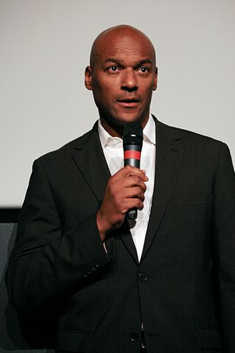 Colin Salmon - Salmon at Dinard British Film Festival (France), 2008