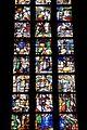 Collégiale St Martin de Liège détail du vitrail de la vie de Notre-Dame 1526.jpg