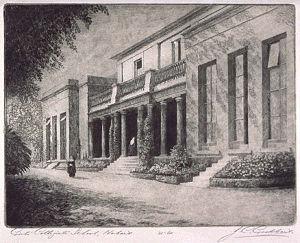 St Michael's Collegiate School - Building of St Michael's Collegiate School, c. 1927.