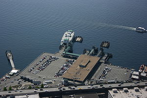 Colman Dock - Colman Dock viewed from the Columbia Center