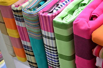 Bed sheet - Assortment of different colored bed sheets