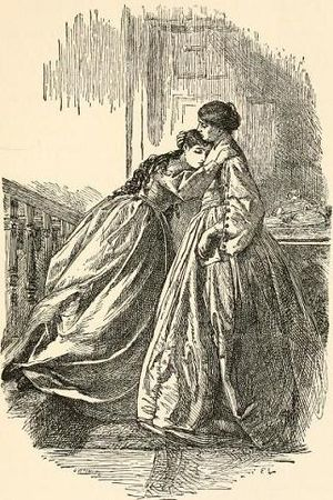 "Frederick Walker (painter) - ""Comfort in grief"" (1862)"