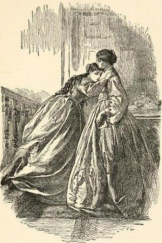 """Frederick Walker (painter) - """"Comfort in grief"""" (1862)"""
