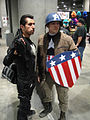 Comikaze Expo 2011 - Punisher and Captain America.jpg
