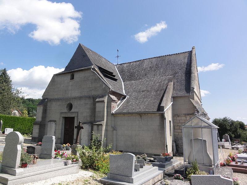 Commenchon (Aisne) église Notre-Dame
