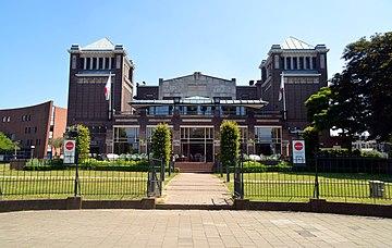 Concertgebouw de Vereeniging Nijmegen vooraanzicht zomer