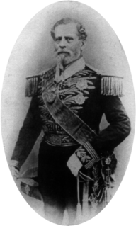 Brazilian statesman and military leader