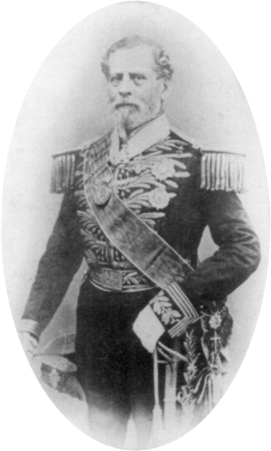 Manuel Marques de Sousa, Count of Porto Alegre - The Count of Porto Alegre around age 61, c. 1865