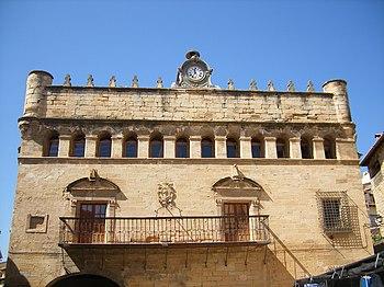 Casa consistorial de La Fresneda