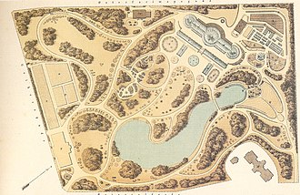 University of Copenhagen Botanical Garden - Plan of the new Botanical Garden