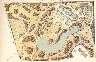 University of Copenhagen Botanical Garden - Plan of the new Botanical Garden