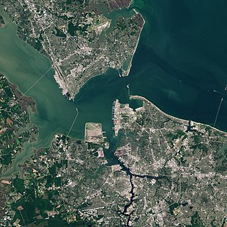 Hampton Roads Body of water and metropolitan area in the US