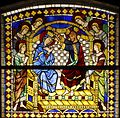 Coronation of Mary - Duccio's rose window - Museo dell'Opera del Duomo - Siena 2016.jpg