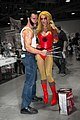 Cosplay Wolverine and Cheetara - Long Beach Comic Con 2012.jpg
