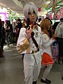 Cosplay of Leif Karlstein from Valvrave the Liberator at the 2013 Cosplay Mart (10490833906).jpg