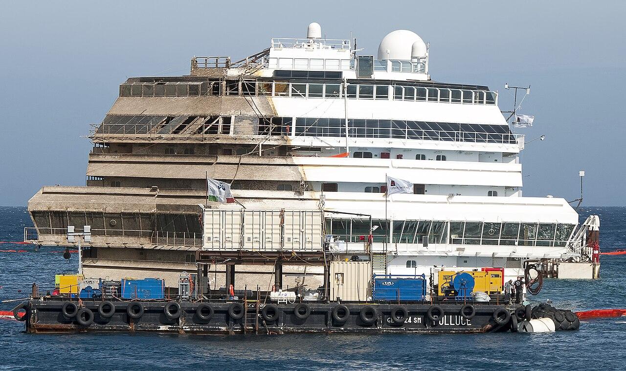 aufrichtig, Costa Concordia