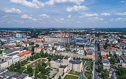 Aerial photo of Cottbus (Germany)