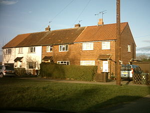 Ainsty, Wetherby - Image: Council houses on Ainsty Crescent