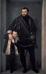 Portrait of Iseppo da Porto and his son Adriano