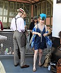 Couple on ferry to 20s dance jeh.jpg