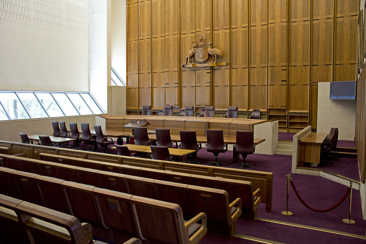 Court Room Set For Tv Programs