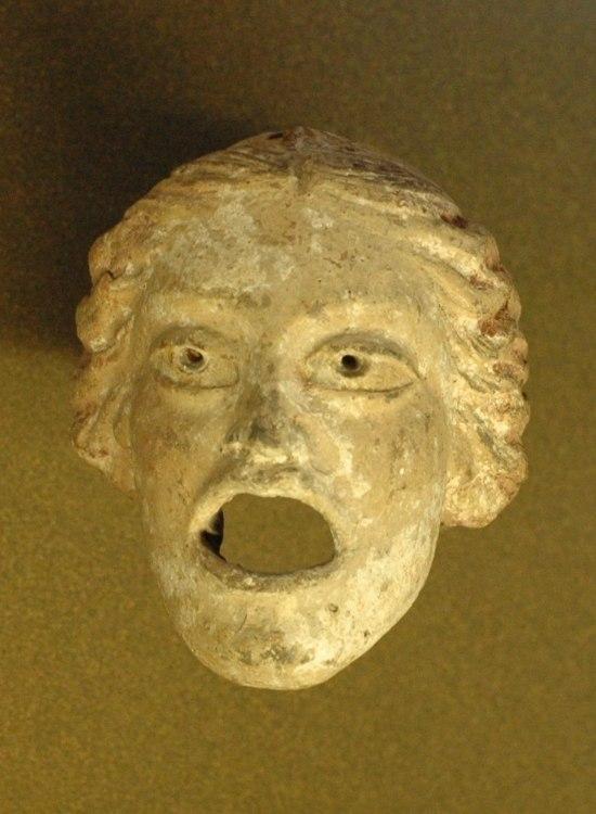 Courtesan mask Louvre MI58