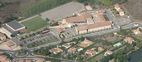 Coustellet school + sport bird view by Jm Rosier.jpg