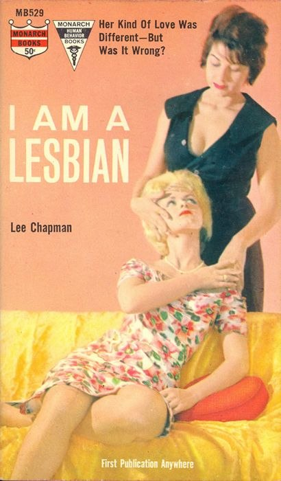 Cover of I Am A Lesbian by Lee Chapman - Monarch MB529 1962