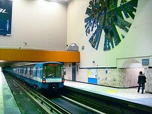 Crémazie station - Image: Crémaziemetro