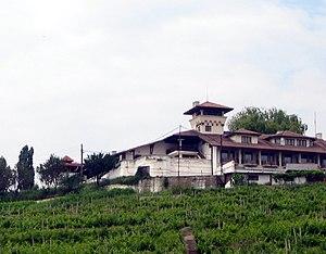 """Boldești-Scăeni - The """"Crama Seciu"""" restaurant in Boldești-Scăeni, surrounded by vineyards"""