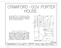 Crawford-Governor Porter House, 407 Dunlap Street, Paris, Henry County, TN HABS TENN,40-PARIS,2- (sheet 1 of 8).png