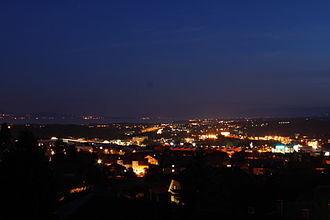 Crissier - Crissier at night