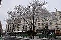 Croisement rues Vavin et Bréa neige 1.jpg