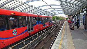 Crossharbour DLR station - Image: Crossharbour DLR Station