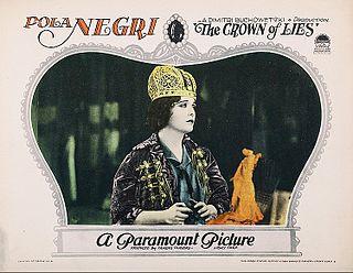 <i>The Crown of Lies</i> 1926 film by Dimitri Buchowetzki