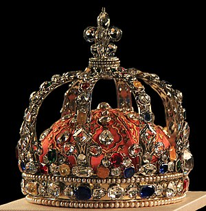 Crown of Louis XV of France - The crown of Louis XV