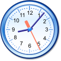 Crystal Clear app xclock.svg
