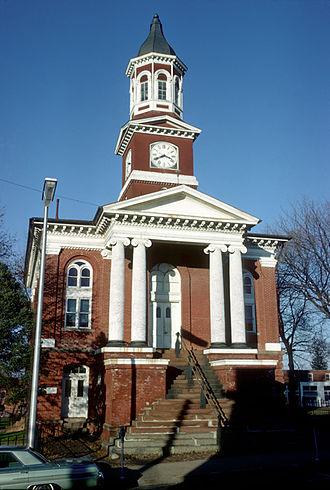 National Register of Historic Places listings in Culpeper County, Virginia - Image: Culpeper County Courthouse, Culpeper (Culpeper County, Virginia)