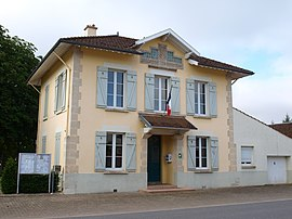 The town hall in Cuperly