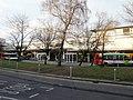Cwmbran Bus Station island - geograph.org.uk - 1650972.jpg
