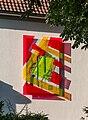 Dülmen, Kunstwerk am Vermessungsbüro Drerup -- 2015 -- 7902.jpg