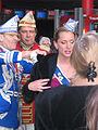 Düsseldorf, Karneval 2012, Prinzenpaar beim Traumkino (2).jpg