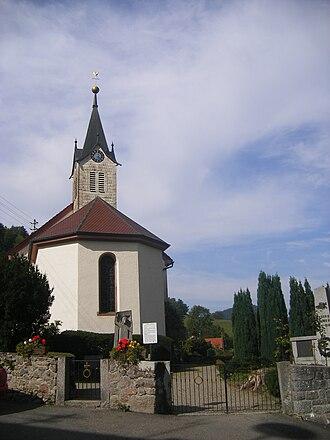 Kirnbach (Wolfach) - Evangelical village church of Kirnbach