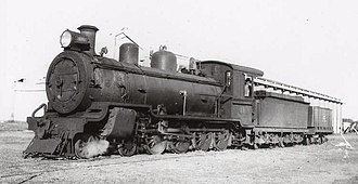 Midland Railway of Western Australia - D19 at Arrino in May 1943